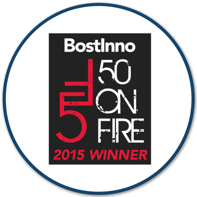 Bigbelly Award: BostInno 50 on Fire, 2015