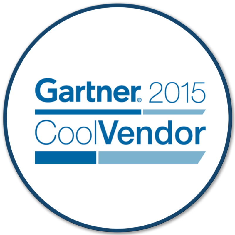 Bigbelly Award: Gartner Cool Vendor, 2015