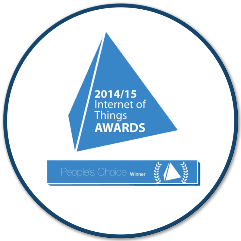Bigbelly Award: IoT Internet of Things Award, People's Choice Winner, 2014-2015