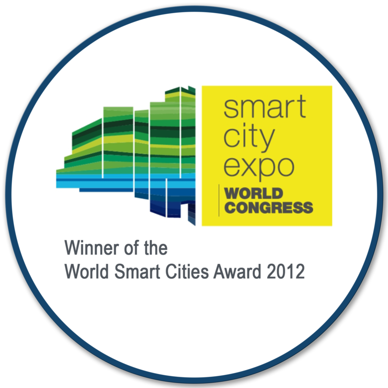 Bigbelly Award: Smart City Expo World Congress Winner of the World Smart Cities Award, 2012