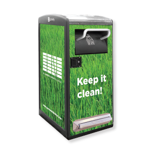Bigbelly Smart Waste & Recycling High Capacity Single Station
