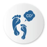 Bigbelly Smart Waste & Recycling Benefits Icon Reduced Carbon Footprint